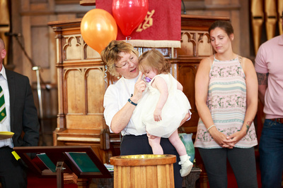 Connie-Jo's Christening @ Allen Memorial Church
